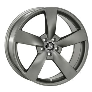 ULTRA WHEELS UA5 10X22 5X112 ET50 66.5 DARK GREY