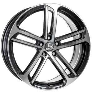 ULTRA WHEELS UA10 8.5X20 5X112 ET48 57.1 GUNMETAL POLISHED